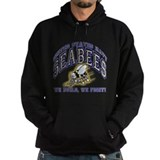 US Navy Seabees Blue and Gold Hoodie