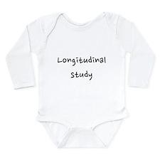 Longitudinal study Long Sleeve Infant Bodysuit
