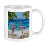 Loving Pink Flamingos Mug