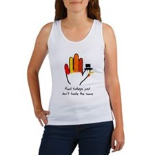 Hand Turkeys Taste The Same Women's Tank Top