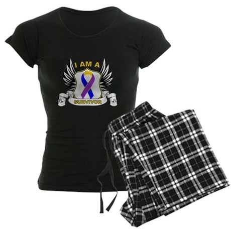 Survivor - Bladder Cancer Women's Dark Pajamas