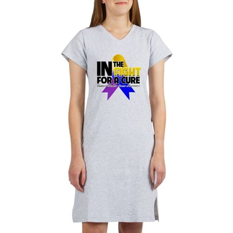 In The Fight - Bladder Cancer Women's Nightshirt