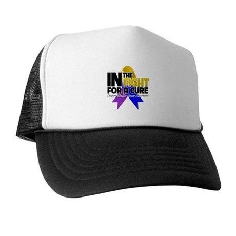 In The Fight - Bladder Cancer Trucker Hat