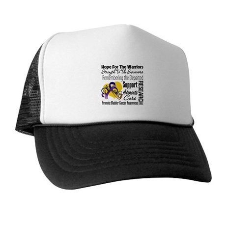 Hope Tribute Bladder Cancer Trucker Hat