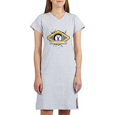 Bladder Cancer Survivor Women's Nightshirt