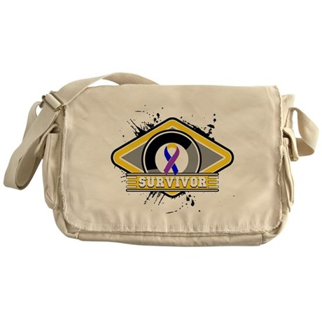 Bladder Cancer Survivor Messenger Bag