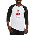 Grumpy Santa Baseball Jersey