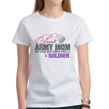 Cute Army mom Tee