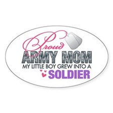Cute Army mom Decal