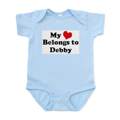 My Heart: Debby Infant Creeper