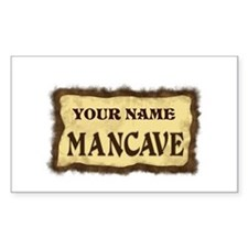 Mancave Sign Decal
