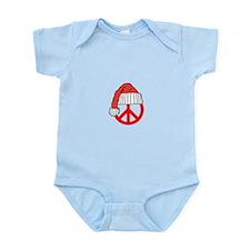 Cute Peace christmas Infant Bodysuit