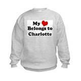 My Heart: Charlotte Sweatshirt