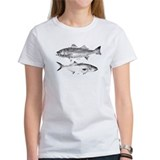 Striper Bass and Bluefish Tee