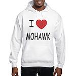 I heart mohawk Hooded Sweatshirt
