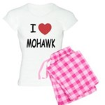 I heart mohawk Women's Light Pajamas