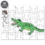 Alligator Chase Puzzle