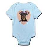 Rottweiler Brother Infant Bodysuit