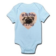 Pug Brother Infant Bodysuit