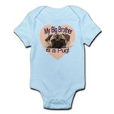 Pug Brother Onesie