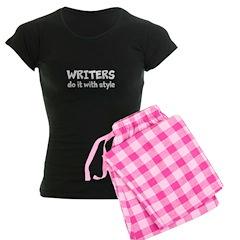 Writers Do It With Style Women's Dark Pajamas
