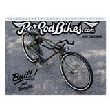 2013 Rat Rod Bikes Wall Calendar