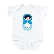 Matryoshka - Blue Infant Bodysuit