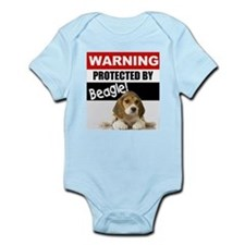 Protected by Beagle Onesie