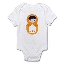 Matryoshka - Orange Infant Bodysuit