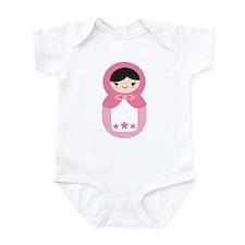 Matryoshka - Pink Infant Bodysuit