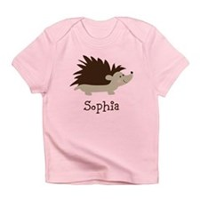 Custom Name Hedgehog Infant T-Shirt