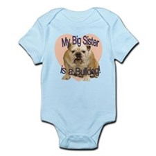 Bulldog Sister Infant Bodysuit