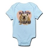 Bulldog Brother Onesie