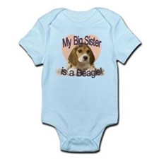 Beagle Sister Infant Bodysuit