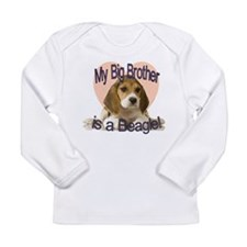 Beagle Brother Long Sleeve Infant T-Shirt