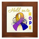Bladder Cancer Framed Tile