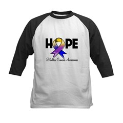 Hope Bladder Cancer Kids Baseball Jersey