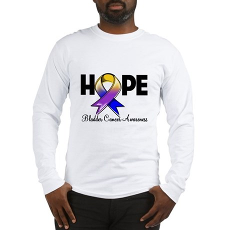 Hope Bladder Cancer Long Sleeve T-Shirt
