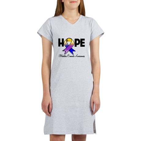 Hope Bladder Cancer Women's Nightshirt