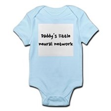 Daddy's little neural network Infant Bodysuit