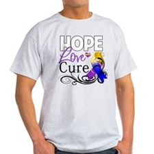 Hope Cure Bladder Cancer T-Shirt