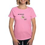 Just Say No To GMO's Women's Dark T-Shirt