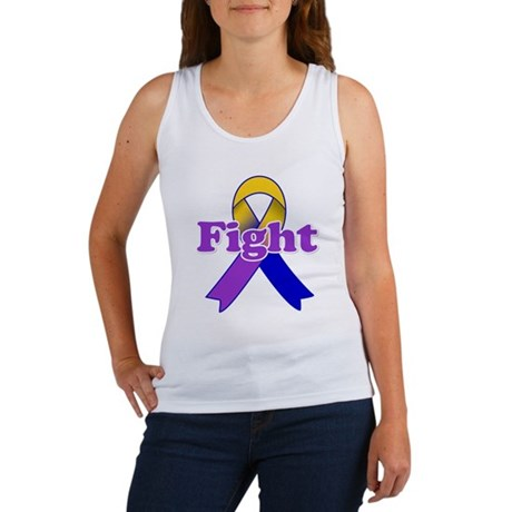 Fight Bladder Cancer Women's Tank Top