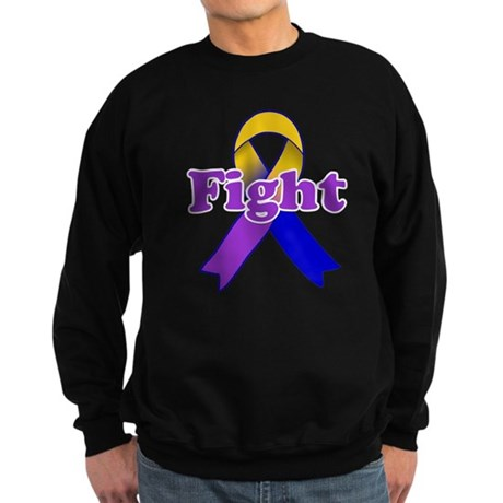 Fight Bladder Cancer Sweatshirt (dark)