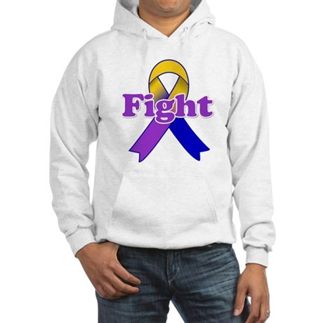 Fight Bladder Cancer Hooded Sweatshirt