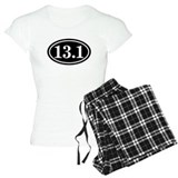 13.1 Half Marathon Oval pajamas