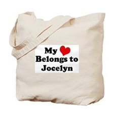 My Heart: Jocelyn Tote Bag