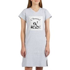 English Toast Wine Women's Nightshirt