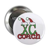 "XC Cross Country Coach 2.25"" Button"