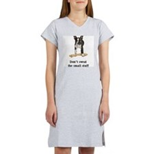 Boston Terrier Stuff Women's Nightshirt